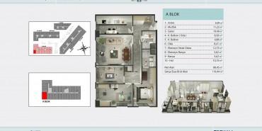 Torkam E5 Kat ve Daire Plan Resimleri-3