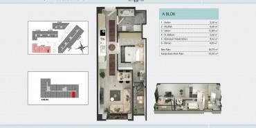 Torkam E5 Kat ve Daire Plan Resimleri-1