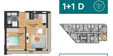 Mint E5 Kat ve Daire Plan Resimleri-4