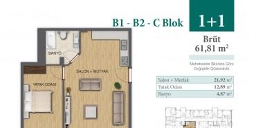 Konakkale Bosphorus Kat ve Daire Plan Resimleri-2