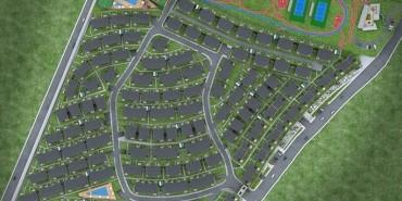 Dekar Asmalı Bahçe Şehir Kat ve Daire Plan Resimleri-1