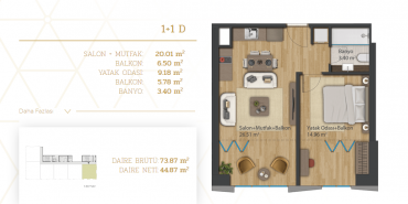 Home Diamond Kat ve Daire Plan Resimleri-4