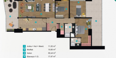 Izka Port Kat ve Daire Plan Resimleri-2