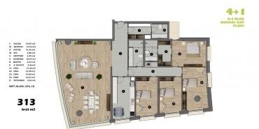 Koşuyolu Koru Evleri Kat ve Daire Plan Resimleri-9