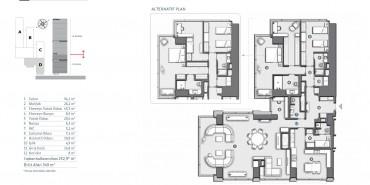 Çiftçi Towers Kat ve Daire Plan Resimleri-10