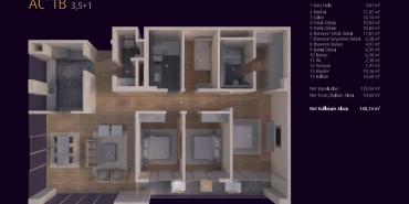 Incek Loft Kat ve Daire Plan Resimleri-16