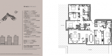 Emaar Square İstanbul Residence Kat ve Daire Plan Resimleri-19