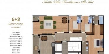 Alya Grandis Kat ve Daire Plan Resimleri-7