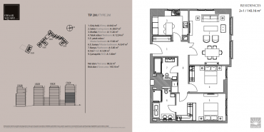 Emaar Square İstanbul Residence Kat ve Daire Plan Resimleri-12