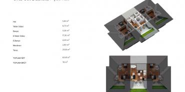 Antteras Kat ve Daire Plan Resimleri-21