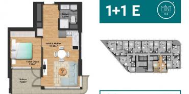 Mint E5 Kat ve Daire Plan Resimleri-3