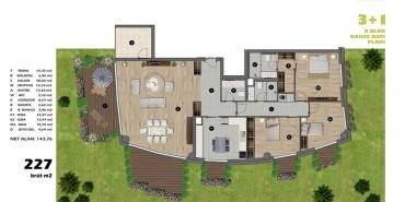 Koşuyolu Koru Evleri Kat ve Daire Plan Resimleri-6