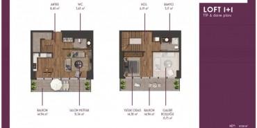 Mahall Bomonti Kat ve Daire Plan Resimleri-11