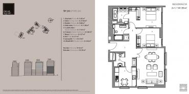 Emaar Square İstanbul Residence Kat ve Daire Plan Resimleri-10