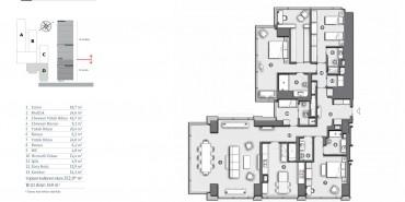 Çiftçi Towers Kat ve Daire Plan Resimleri-9