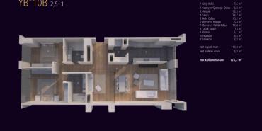 Incek Loft Kat ve Daire Plan Resimleri-22