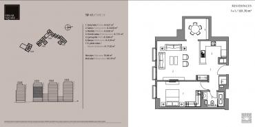 Emaar Square İstanbul Residence Kat ve Daire Plan Resimleri-4