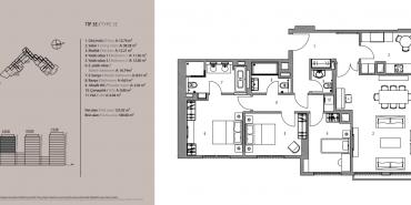 Emaar Square İstanbul Residence Kat ve Daire Plan Resimleri-14