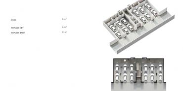 Antteras Kat ve Daire Plan Resimleri-9