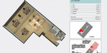 Torkam E5 Kat ve Daire Plan Resimleri-4
