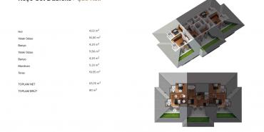 Antteras Kat ve Daire Plan Resimleri-18