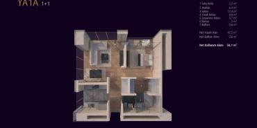 Incek Loft Kat ve Daire Plan Resimleri-1