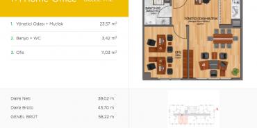 Arena 24 Kat ve Daire Plan Resimleri-2
