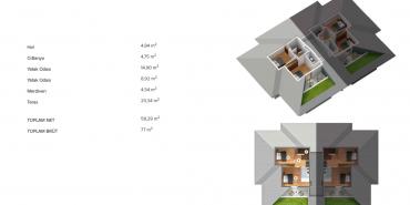 Antteras Kat ve Daire Plan Resimleri-11