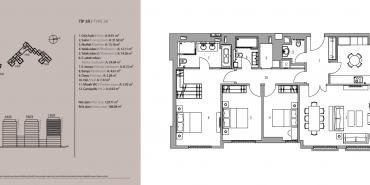 Emaar Square İstanbul Residence Kat ve Daire Plan Resimleri-16
