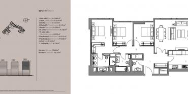 Emaar Square İstanbul Residence Kat ve Daire Plan Resimleri-18