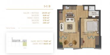 Home Diamond Kat ve Daire Plan Resimleri-2