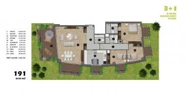 Koşuyolu Koru Evleri Kat ve Daire Plan Resimleri-2