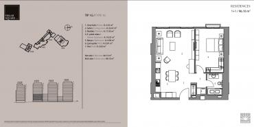 Emaar Square İstanbul Residence Kat ve Daire Plan Resimleri-5