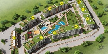 Konakkale Bosphorus Kat ve Daire Plan Resimleri-1