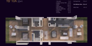 Incek Loft Kat ve Daire Plan Resimleri-21