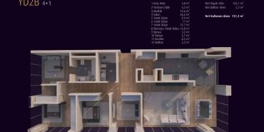 Incek Loft Kat ve Daire Plan Resimleri-19