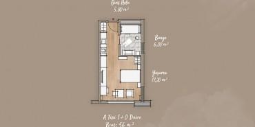 Antwell Life Care Residence Kat ve Daire Plan Resimleri-3