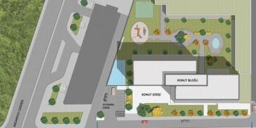 Antasya Residence Kat ve Daire Plan Resimleri-1