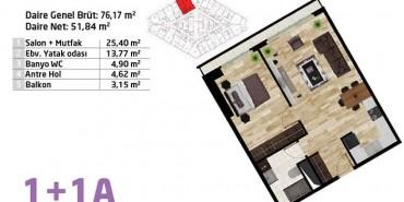 Elite Concept Kat ve Daire Plan Resimleri-2