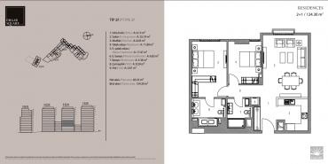 Emaar Square İstanbul Residence Kat ve Daire Plan Resimleri-9