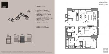 Emaar Square İstanbul Residence Kat ve Daire Plan Resimleri-7
