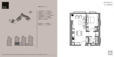 Emaar Square İstanbul Residence Kat ve Daire Plan Resimleri-1