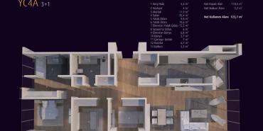 Incek Loft Kat ve Daire Plan Resimleri-11