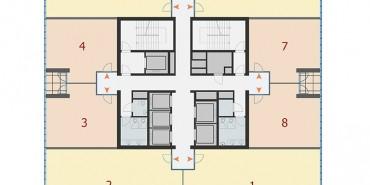 Antplato Kat ve Daire Plan Resimleri-2