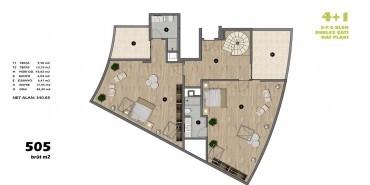 Koşuyolu Koru Evleri Kat ve Daire Plan Resimleri-13