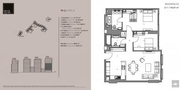 Emaar Square İstanbul Residence Kat ve Daire Plan Resimleri-11