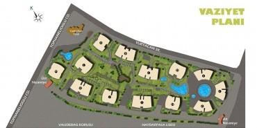 Koşuyolu Koru Evleri Kat ve Daire Plan Resimleri-1