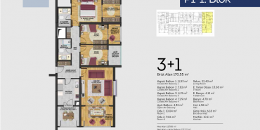 Tual Bahçekent Kat ve Daire Plan Resimleri-4