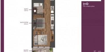 Mahall Bomonti Kat ve Daire Plan Resimleri-1