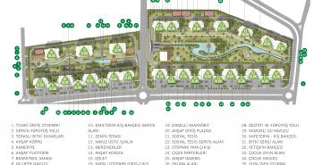 Avrupark Bahçekent Kat ve Daire Plan Resimleri-1
